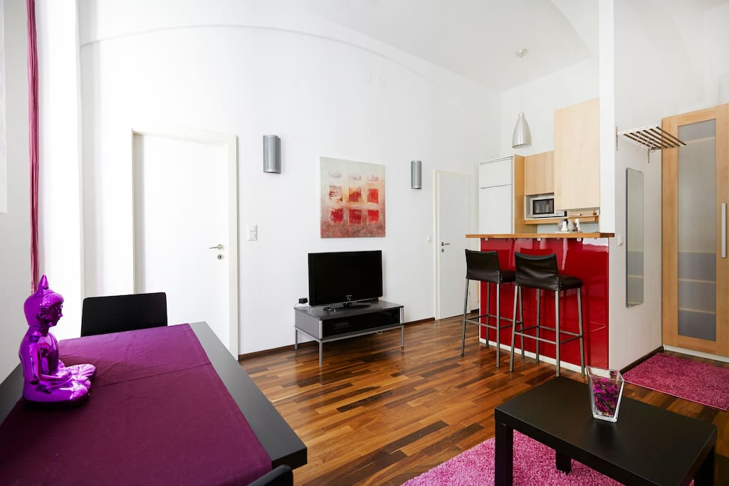 Perfekte location, tolle apartment