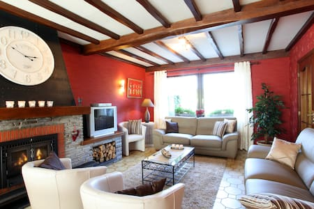 House with sauna, jacuzzi,wi-fi 10P - Trois-Ponts
