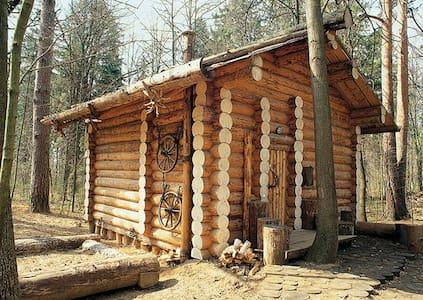 Дом-шале с камином под Звенигородом - Zvenigorod - Almhütte
