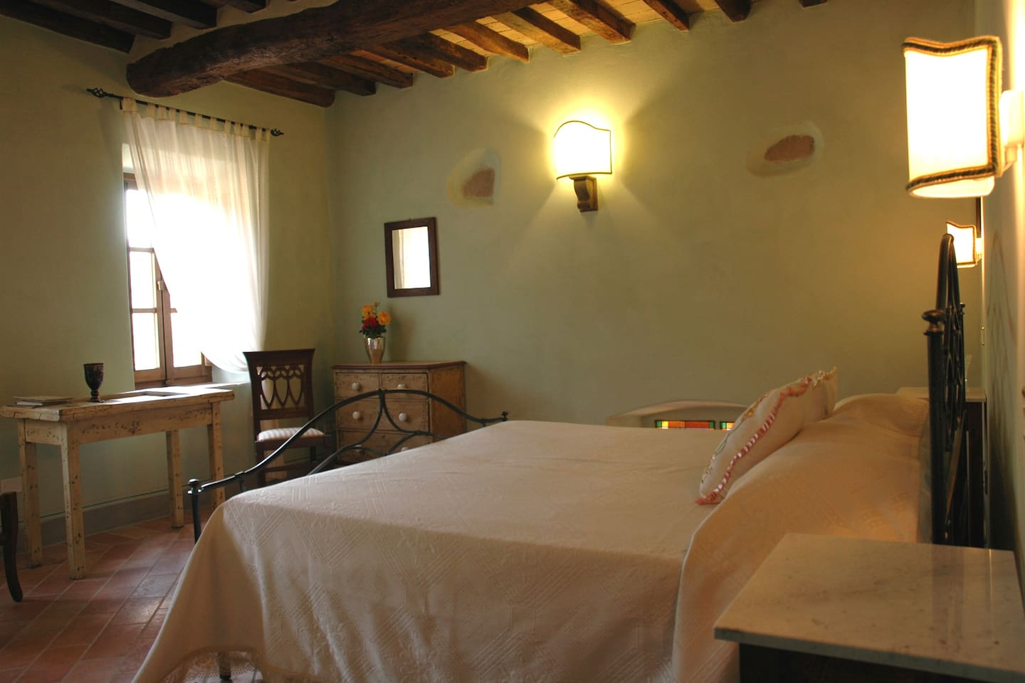 Irace room in Umbria, eco pool