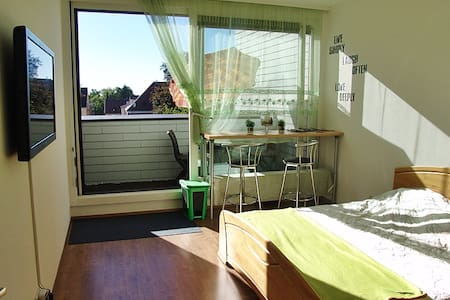 Clean, sunny, quiet, centrally - Augsburg - Appartement