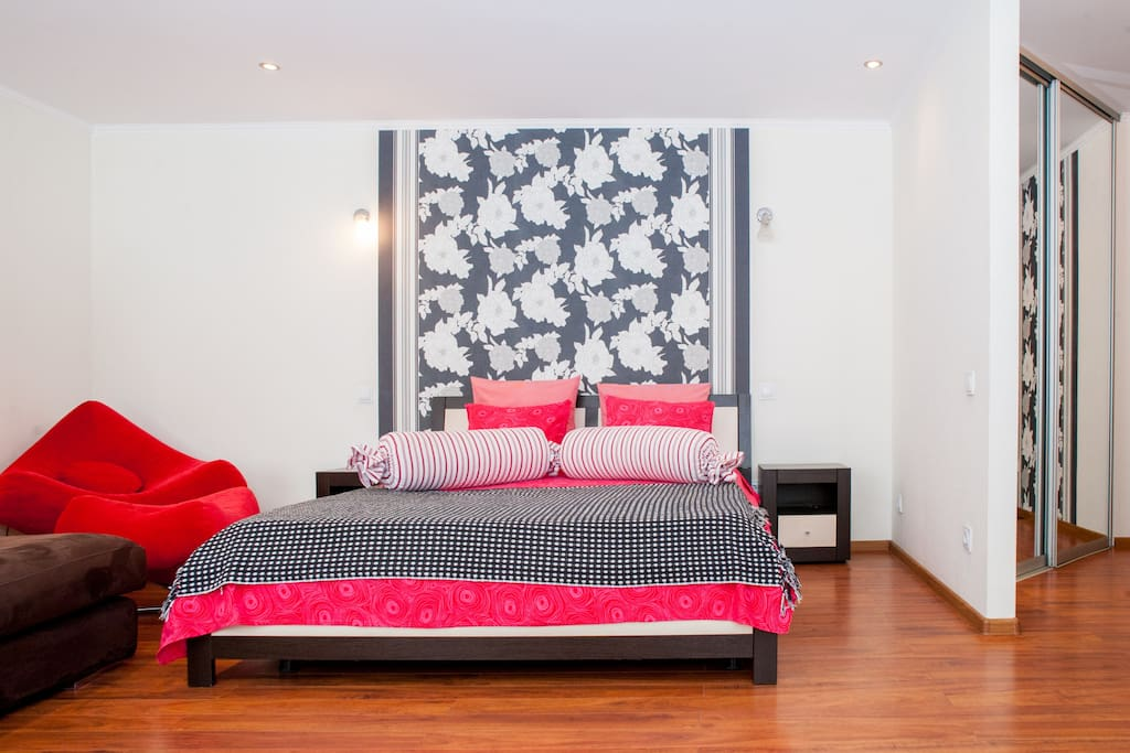 One-room studio-suite in Kishinev