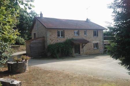 Grande grange rénovée à la campagne - Haus