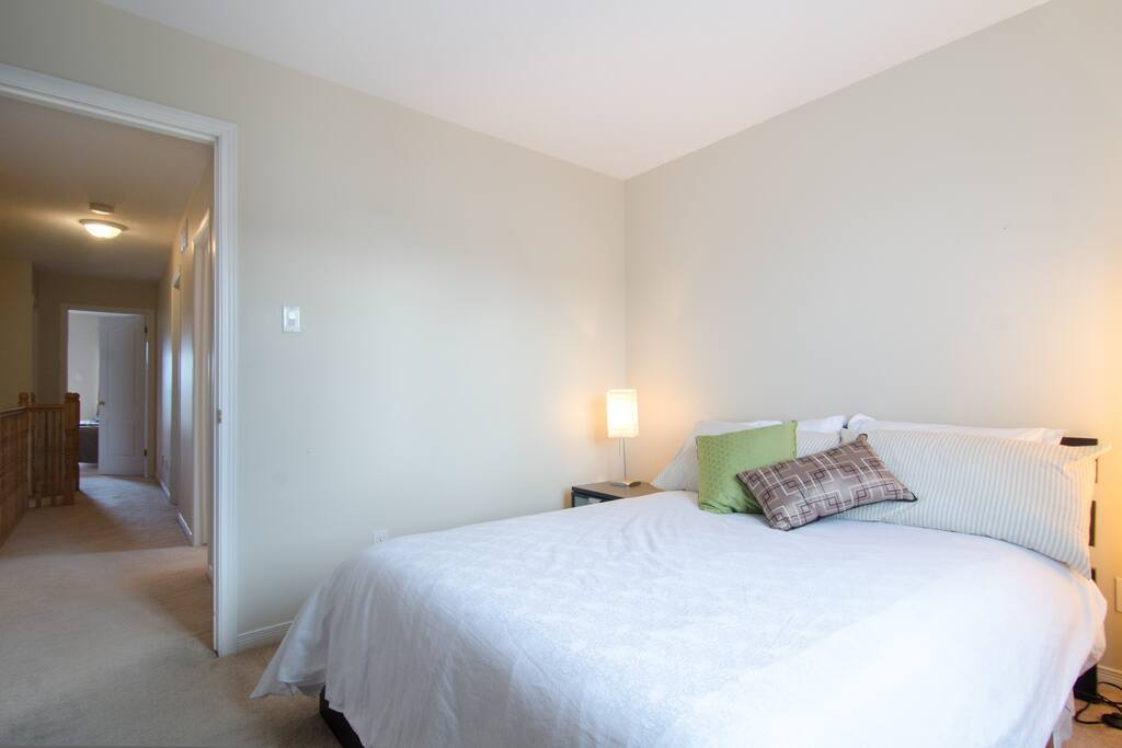 Beautiful bedroom in modern condo