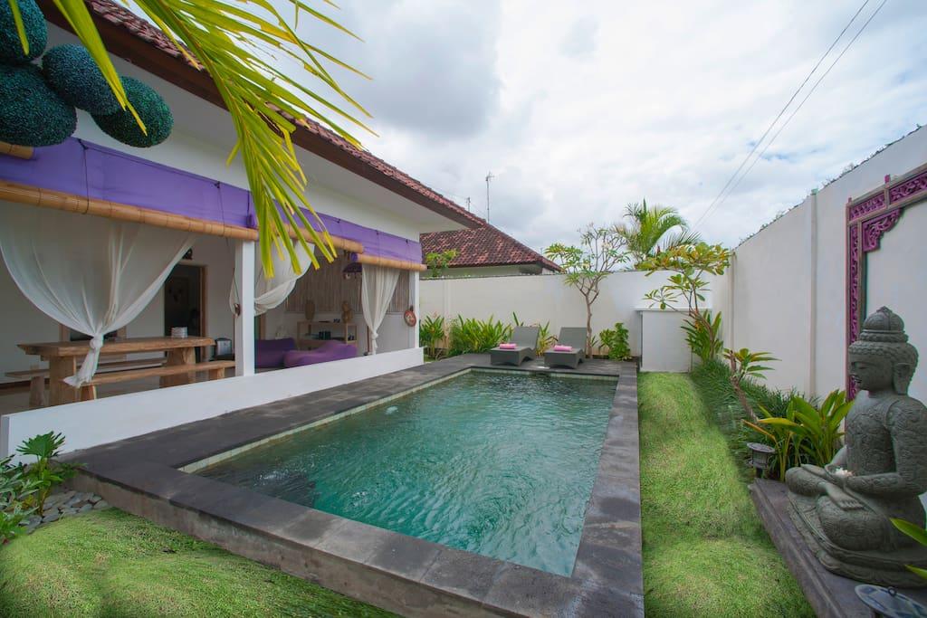 Selamat datang di villa Le Sourire de Bali