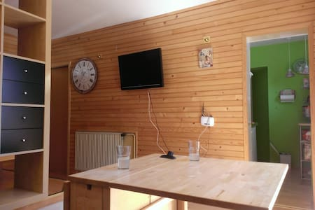 """Mini Woody"" + free parking - Ljubljana - House"
