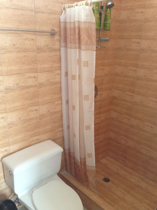 All 3 Bathrooms are completed with hot water and shower