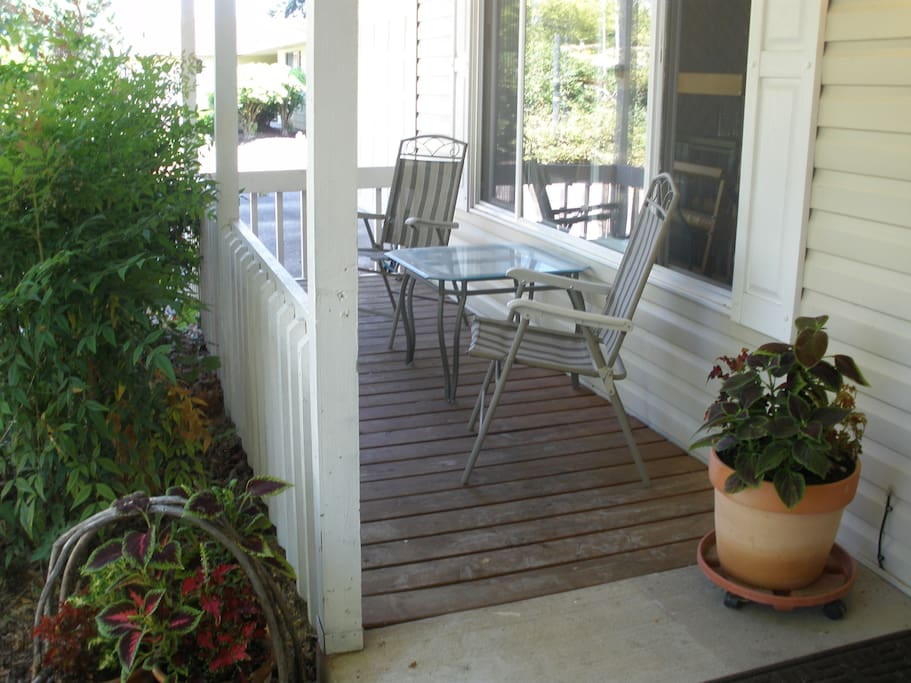 your porch