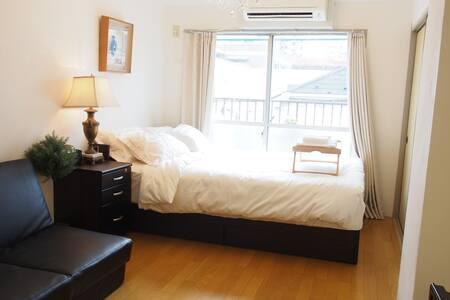 新宿区附近干净舒适公寓+口袋Wifi #LS1 - Shinjuku-ku - Apartemen
