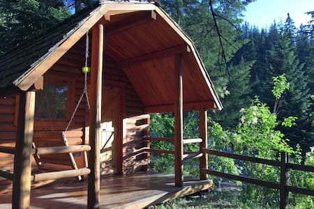"""Your Own Private Idaho"" Cabin! :) - Coeur d'Alene - Stuga"