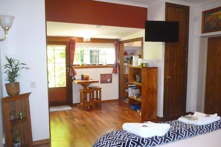 "Corner Cottage: ""The Warren"" apartment with spa. - Richmond"