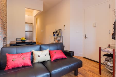 Cozy Queen Bedroom in CrnHts BKLYN - Brooklyn - Apartment