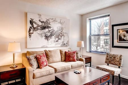 Lux Morristown Green 1BR w/WiFi - Apartment