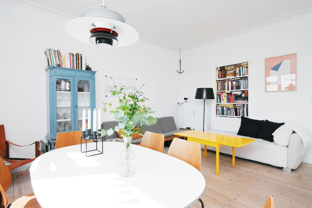 Cosy & cool apt. in Frederiksberg