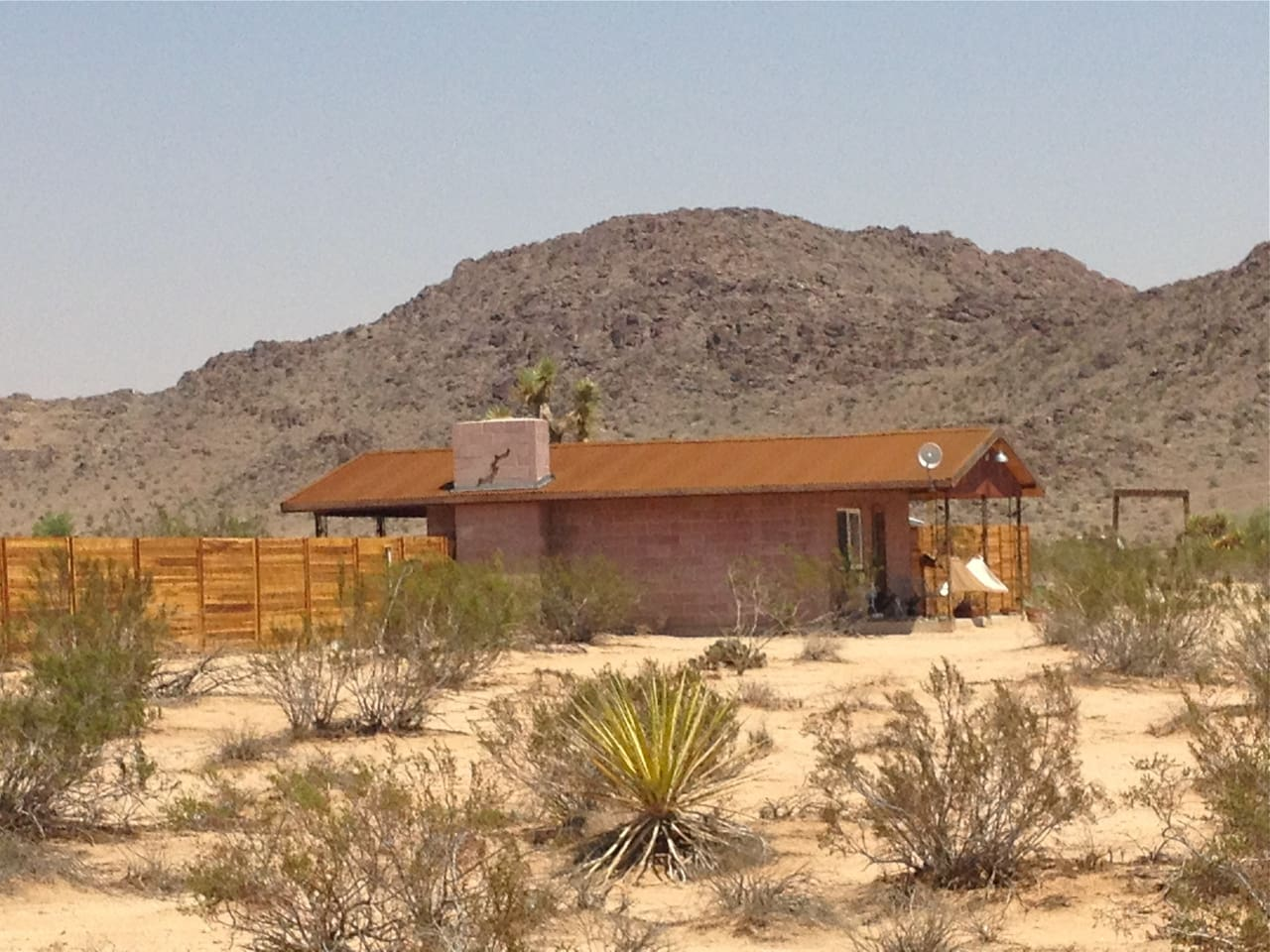 1954 Homesteader on 5 acres with open desert views