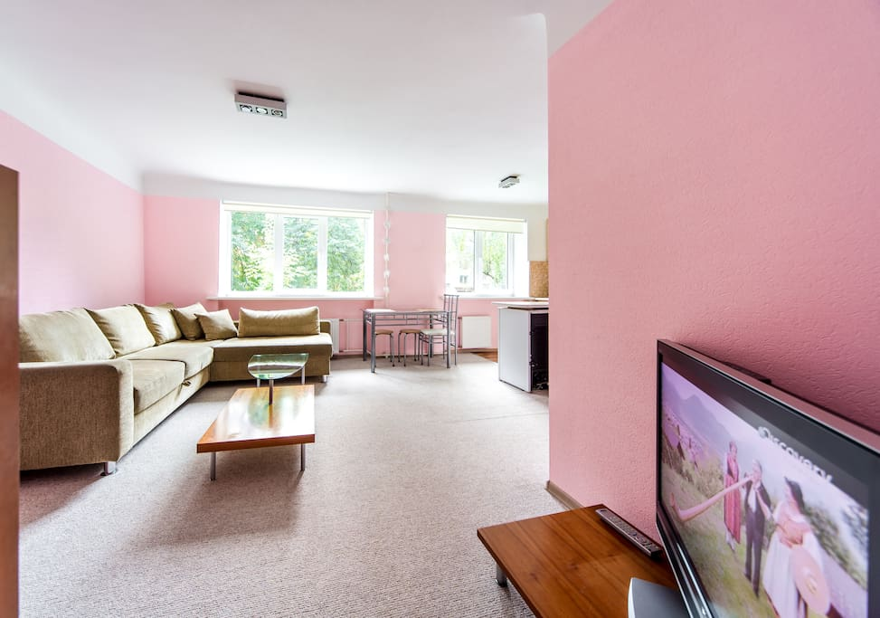 Welcome to our bright and cozy apartment near Riga center!