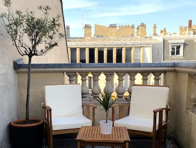 ROOFTOP - TERRASSE // Paris Le MARAIS - Paris - Apartment