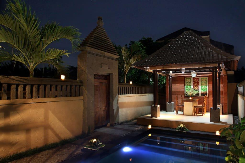 Pool villa and Gate