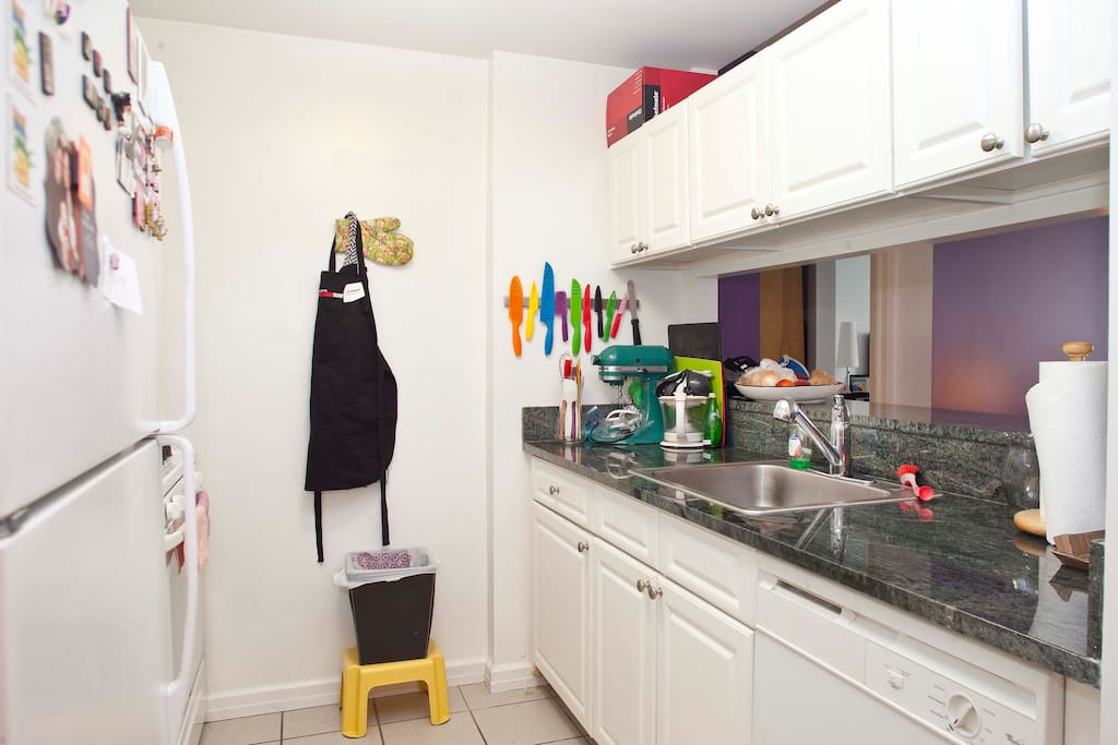 My lovely kitchen, fully equipped!