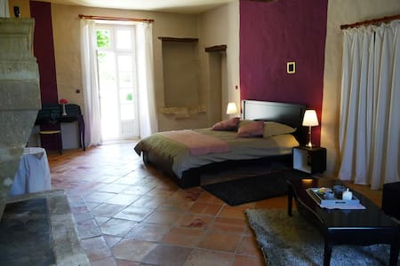 Baroque room in Manor near Bordeaux - Sainte-Gemme
