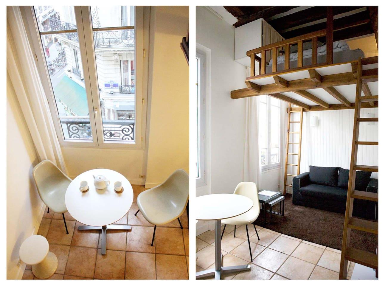 VERY COSY! Studio in MARAIS PARIS