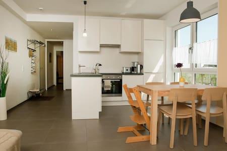 Helles Apartment mit Garten - Füssen
