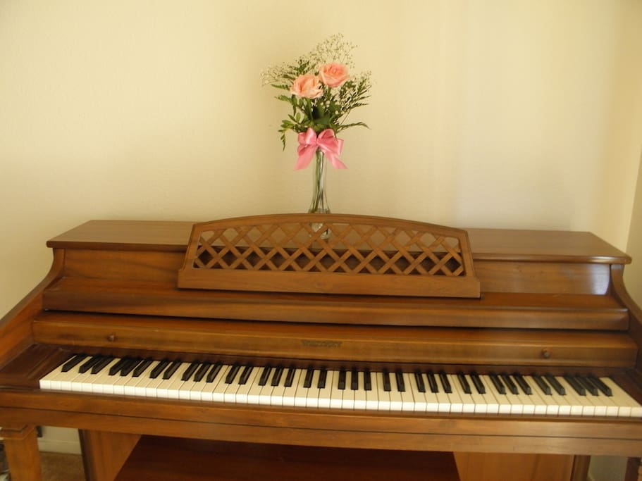 Piano available