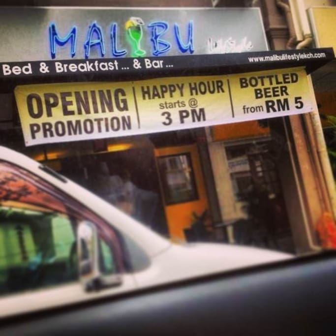 Malibu Lifestyle Kuching B&B...&Bar