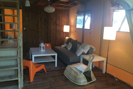 Safari tente - La Chartre-sur-le-Loir - Tente