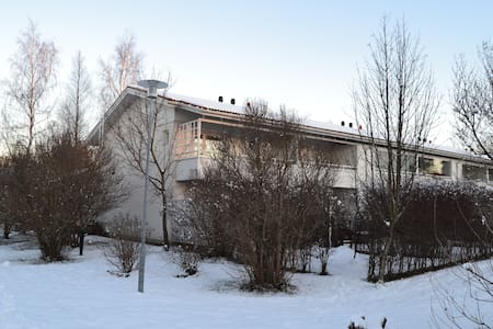 Cosy apartment at a terraced hous - Oulu - House