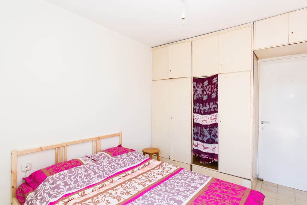 Bedroom #1: Queen Size bed 140cm x 200cm with Large closet