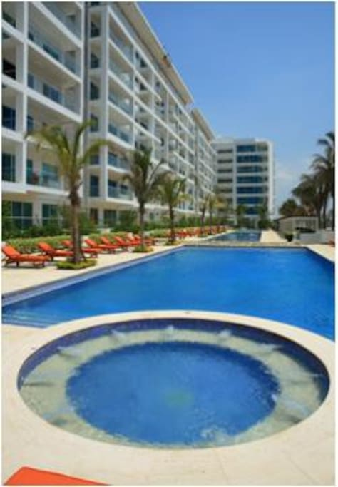 2 Bed Flat in Cartagena Beach Front