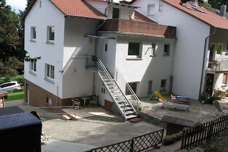 Ferienwohnung am Waldrand - Apartemen