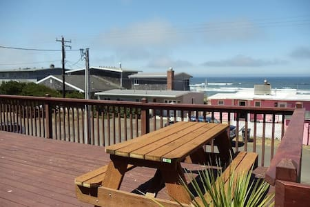 Ocean view home w/Awesome Deck