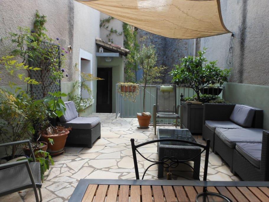 Guests terrace