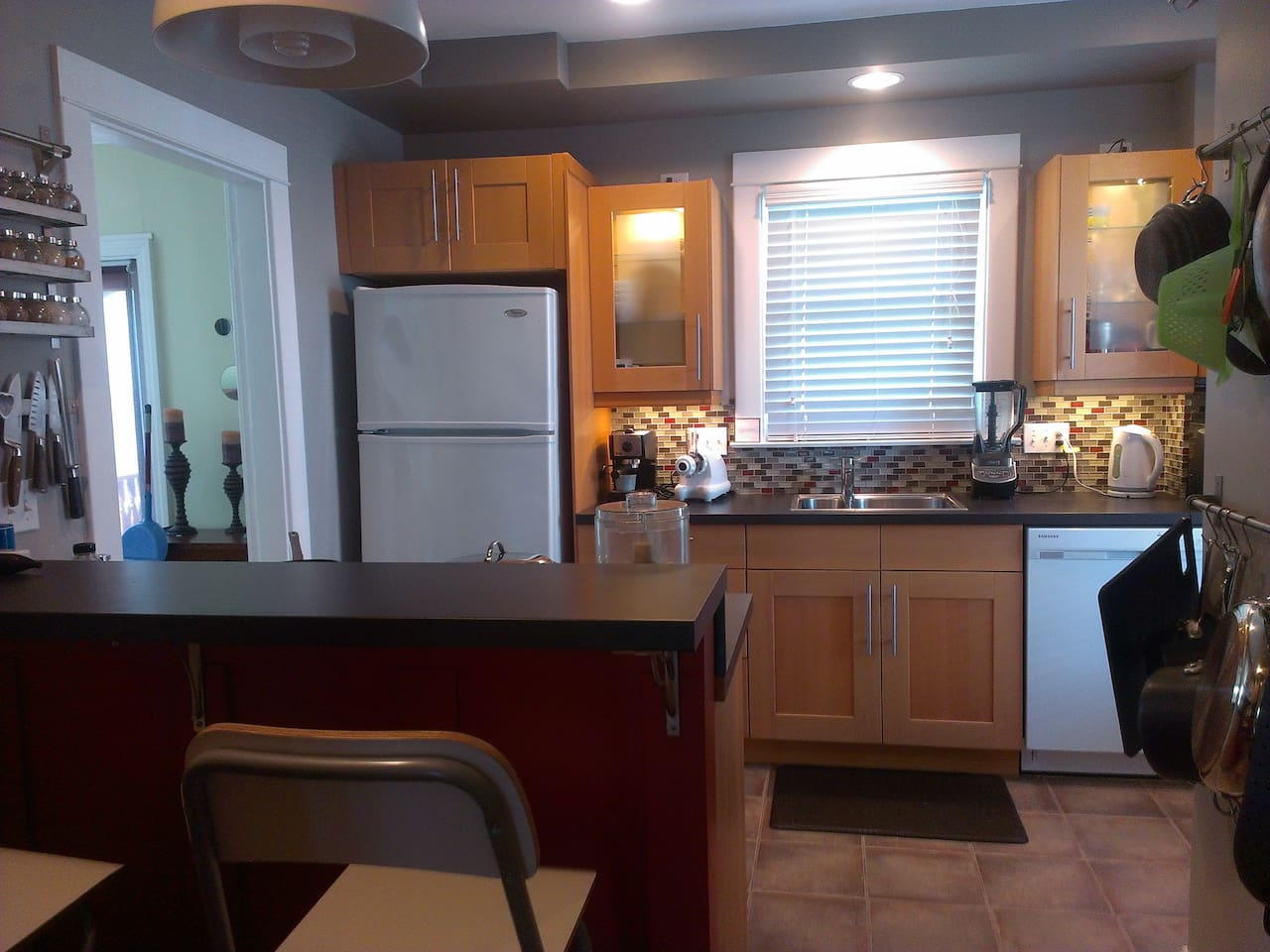 IKEA kitchen that I remodeled lovingly from scratch over a 9 month period.