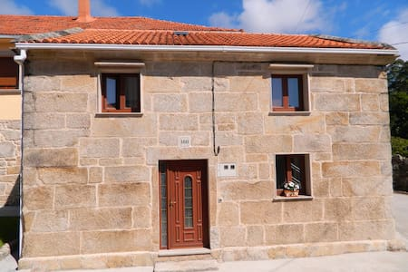 Casa Cuadrante - Little house at beautiful beach - Pedrafigueira - Rumah