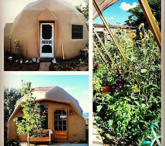 Geodesic Earth Dome - Earth House