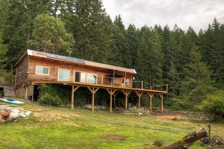 Refuge Cove secluded island getaway - Greater Vancouver - House