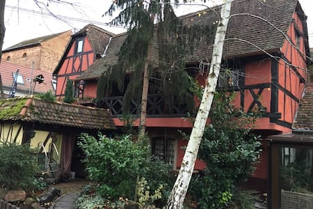 Chambre d'hôtes dans Maison Alsacienne - Guesthouse