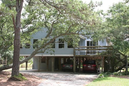 Secluded, Spacious Edisto Beach Walk Home. - Rumah
