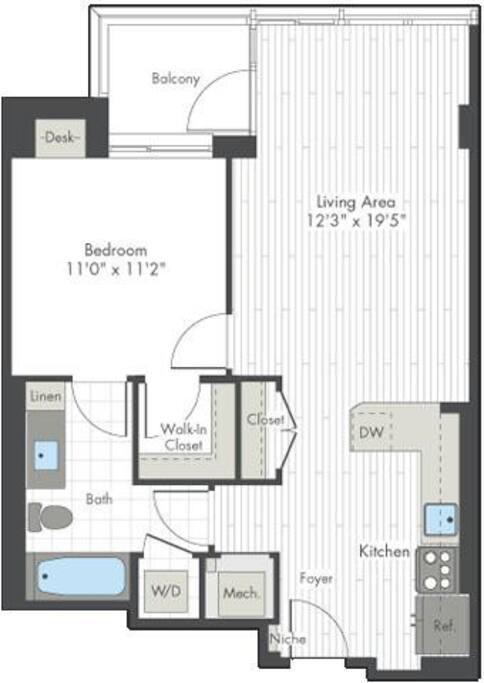 Spacious Floor Plan