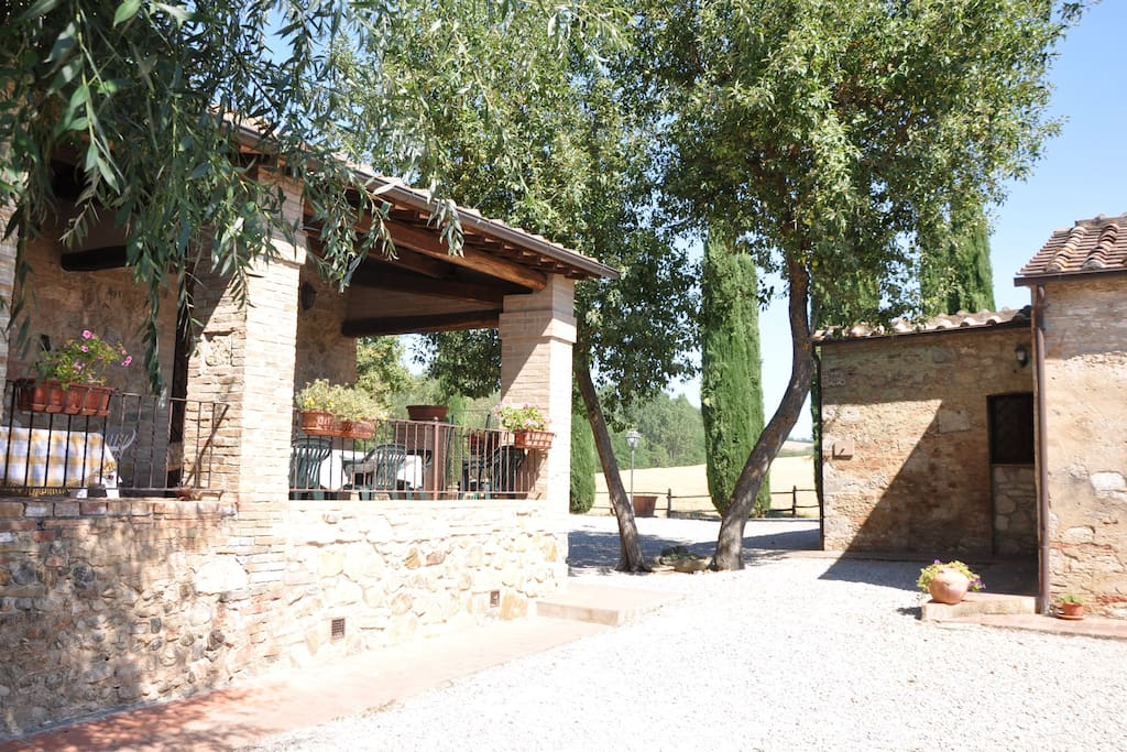 Ancient Mill in Val D'Orcia