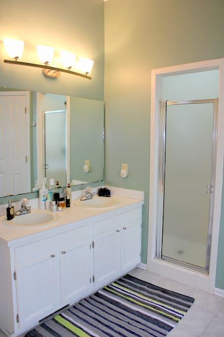 Master Suite Bathroom. Private