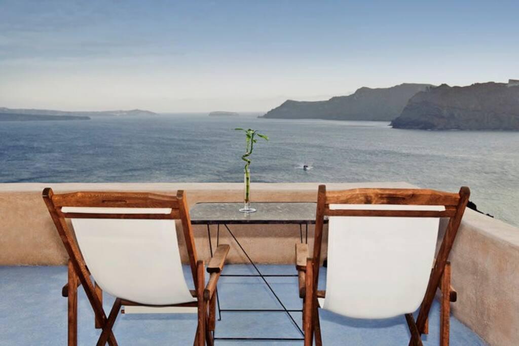 Oia- Caldera View- Godess Lethe No2