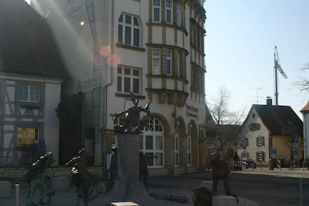 exklusive Traumwohnung in Denkmal - Singen - Huoneisto