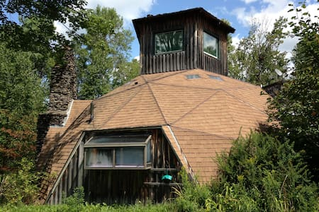 Geodesic Dome House With Hot Tub: - Woodbury
