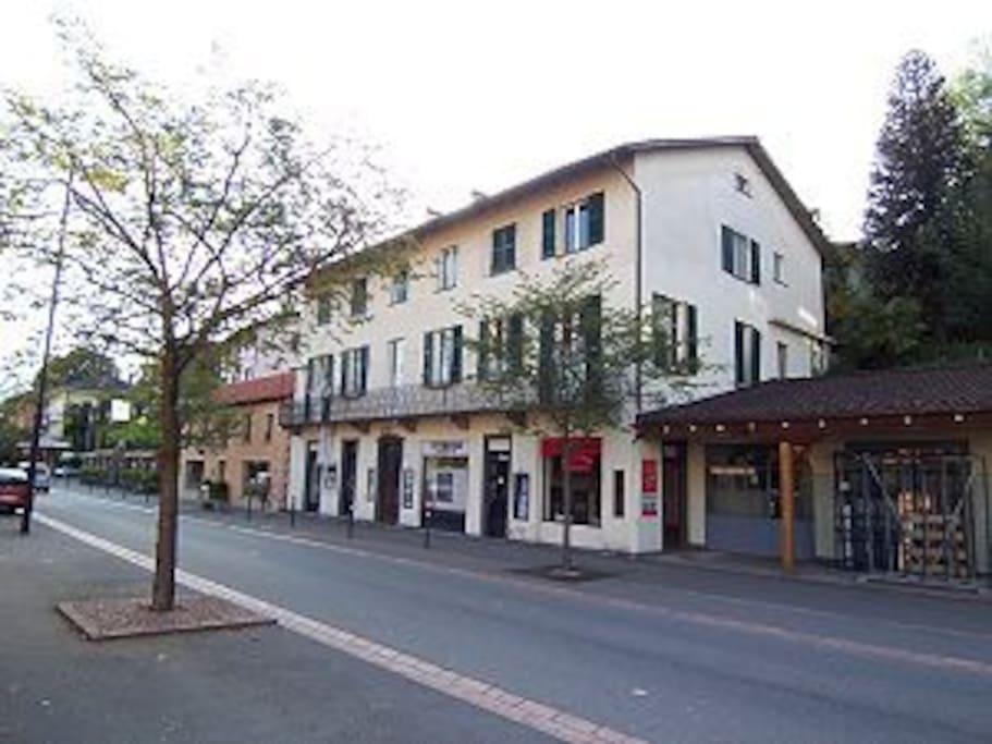 Doppelbettzimmer in Ascona