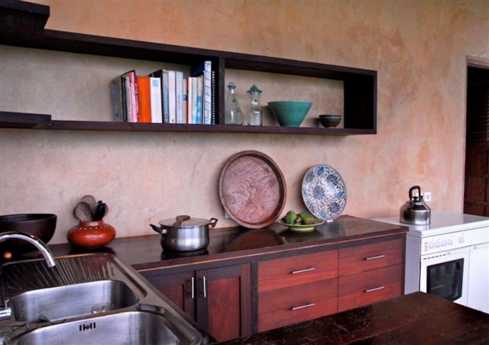 The Mainhouse kitchen is open plan