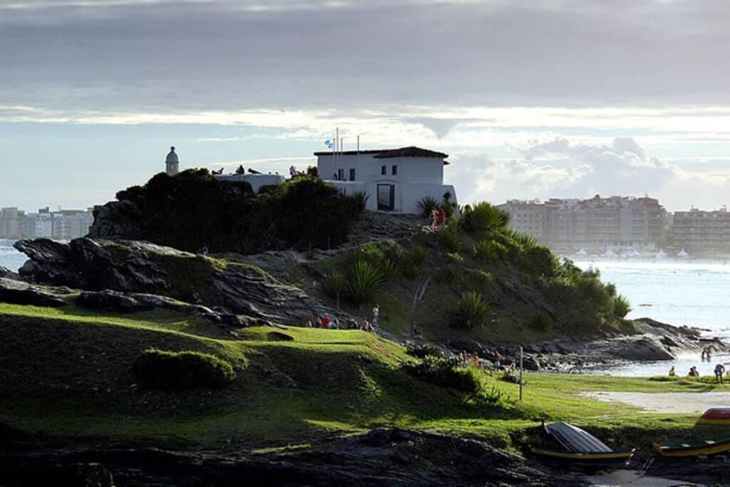 Forte de Cabo Frio. Cabo Frio Fortress. Fortaleza de Cabo Frio.